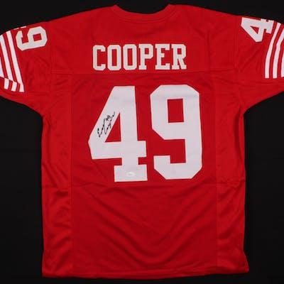Earl Cooper Signed Jersey (JSA COA)