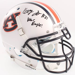 Kerryon Johnson Signed Auburn Tigers Full-Size Authentic On-Field