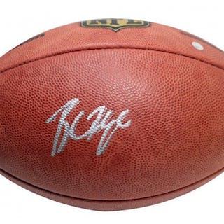 9f870a04fad 沒多長時間了! Baker Mayfield Signed NFL Game Football (Steiner COA)