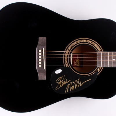 Steve Miller Signed Acoustic Guitar (JSA COA)