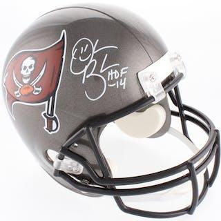 Derrick Brooks Signed Tampa Bay Buccaneers Full-Size Helmet Inscribed