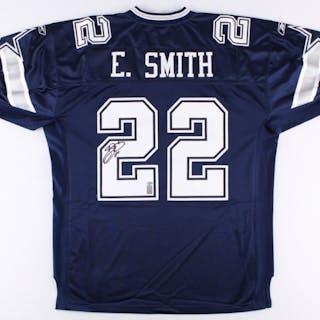 buy online c0813 c2c79 Emmitt Smith Signed Cowboys Jersey (Smith Hologram & Radtke ...