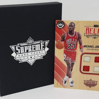 Michael Jordan 2016-17 Upper Deck Supreme Hardcourt NBA Relics Floor