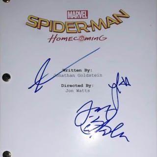 "Tom Holland, Laura Harrier & Jacob Batalon ""Spider-Man: Homecoming"""