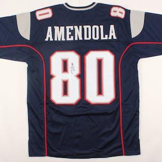 e037f816 Danny Amendola Signed Patriots Jersey (JSA COA) – Current sales –  Barnebys.com