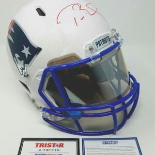 "Tom Brady Signed Patriots LE ""Tom Brady Edition"" Full-Size Authentic"
