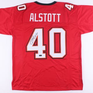 Mike Alstott Signed Jersey (Radtke COA)