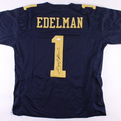 sports shoes ab4ed 9efdd Julian Edelman Signed Kent State Golden Flashes Jersey (JSA ...