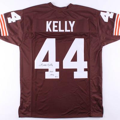 "Leroy Kelly Signed Jersey Inscribed ""H.O.F 1994"" (Beckett COA)"
