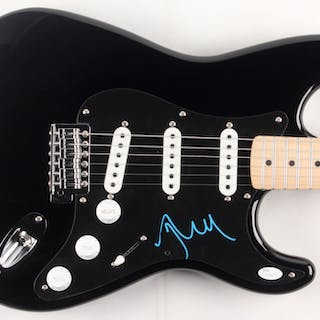 John Mellencamp Signed Electric Guitar (JSA COA)