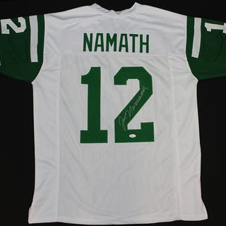 Joe Namath Signed New York Jets Jersey (JSA COA)