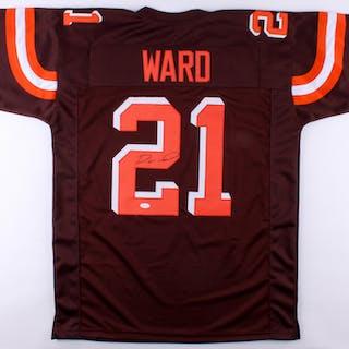 Denzel Ward Signed Browns Jersey (JSA COA) – Current sales – Barnebys.com fccb62cac