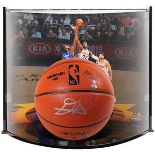 Deandre Ayton Signed NBA Game Ball Series Basketball With Curve Display