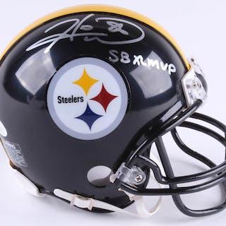 4733125e26e Hines Ward Signed Pittsburgh Steelers Mini Helmet Inscribed  SB XL –  Current sales – Barnebys.com