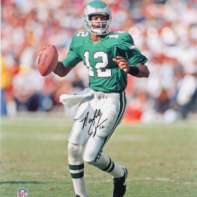 Randall Cunningham Signed Eagles 16x20 Photo (JSA COA)