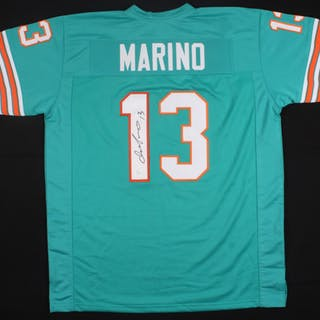 purchase cheap 99417 c66d5 Dan Marino Signed Dolphins Jersey (JSA COA) – Current sales ...