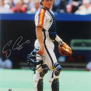 Craig Biggio Signed Houston Astros 16x20 Photo (TriStar Hologram)