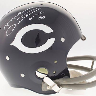 Mike Ditka Signed Bears Throwback TK Suspension Full-Size Helmet Inscribed
