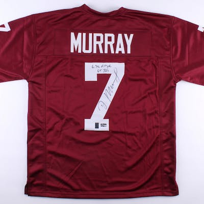 "DeMarco Murray Signed Jersey Inscribed ""6,718 AP Yds"" & ""65 TD's"" (Radtke COA)"