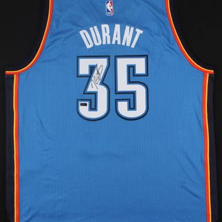 sports shoes 9a3e6 d9045 Kevin Durant Signed Thunder Jersey (Panini COA) – Current ...