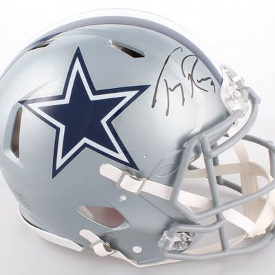 new product daa8b 8de37 Tony Romo Signed Cowboys Full-Size Authentic On-Field Speed ...