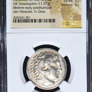 336-323 BC Kingdom of Macedon Alexander III AR (Silver) Tetradrachm