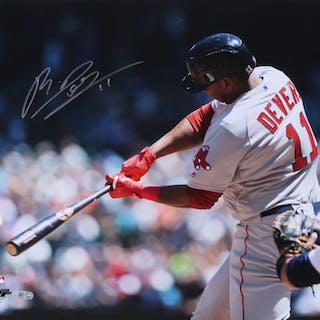 Rafael Devers Signed Red Sox 16x20 Photo (MLB Hologram)