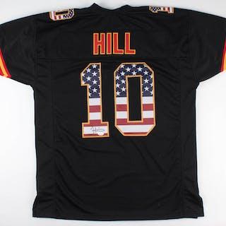 online store 47bf1 85e9f Tyreek Hill Signed Kansas City Chiefs