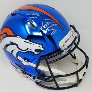 Peyton Manning Signed LE Broncos Full-Size Authentic On-Field Custom