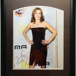 Martina McBride Signed 16x20 Custom Framed Photo Display (JSA COA)