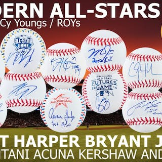 Mystery Ink Modern All-Stars Baseball Edition! 1 All-Star / MVP /