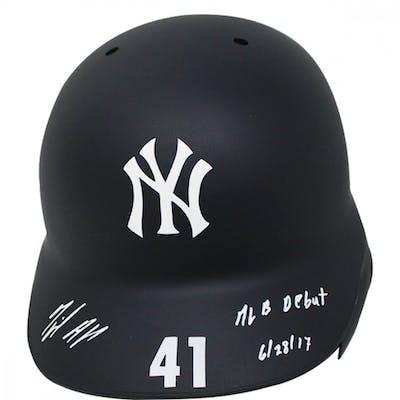 Miguel Andujar Signed New York Yankees Road Model Matte Full-Size