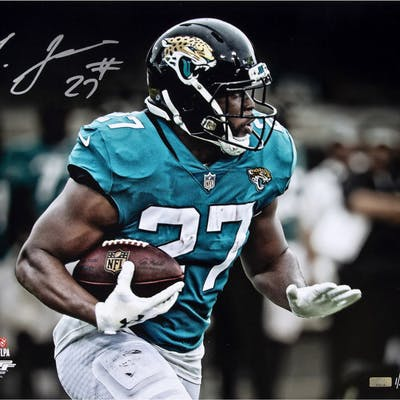 "Leonard Fournette Signed Jaguars ""Ball Carrier"" 16x20 Limited Edition"
