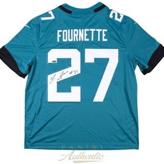 881ff5958 Leonard Fournette Signed Jaguars 2018 Nike Jersey (Panini COA)