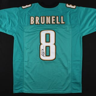 Mark Brunell Signed Jaguars Jersey (JSA COA) – Current sales – Barnebys.com 503d6032f