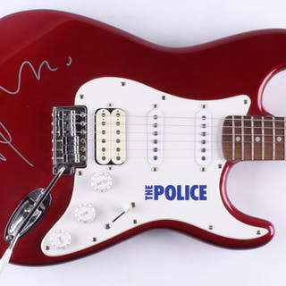 Andy Summers Signed Full-Size The Police Fender Electric Guitar (JSA Hologram)