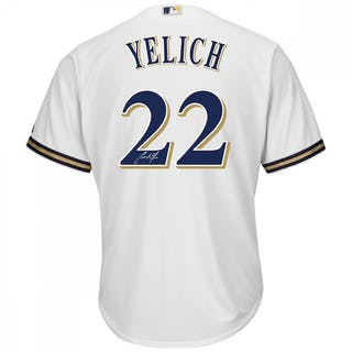 d74b734df Christian Yelich Signed Milawuakee Brewers Jersey (Steiner COA) – Current  sales – Barnebys.com