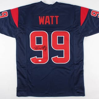 b2b17c87d65 J. J. Watt Signed Houston Texans Jersey (JSA COA) – Current sales – Barnebys