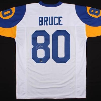 Isaac Bruce Signed Los Angeles Rams Jersey (Beckett COA & GTSM Hologram)