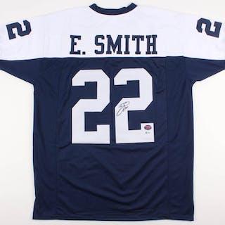 Emmitt Smith Signed Dallas Cowboys Jersey (Beckett COA & Prova Hologram)