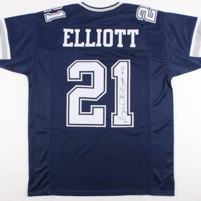 Ezekiel Elliott Signed Jersey (Beckett COA)
