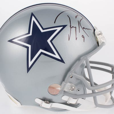best loved 1aafb daf25 Tony Romo Signed Dallas Cowboys Full-Size Authentic On-Field ...