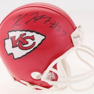 Kareem Hunt Signed Chiefs Mini Helmet (JSA COA   Hunt Hologram) – Current  sales – Barnebys.com 583f92104