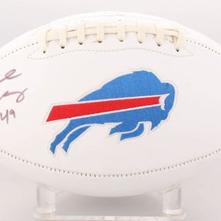 Tremaine Edmunds Signed Bills Logo Football (JSA COA) – Current sales –  Barnebys.com c43f1b6aa