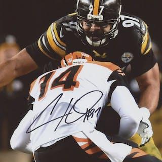 d0c8e6a2f29 Cameron Heyward Signed Steelers 8x10 Photo (Heyward Hologram) – Current  sales – Barnebys.com