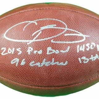 "Odell Beckham Jr. Signed LE ""The Duke"" Official NFL Game Ball Inscribed"