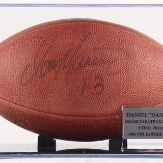 Dan Marino Signed Official NFL Game Ball (PSA COA) – Current sales ... 1c54bfe54