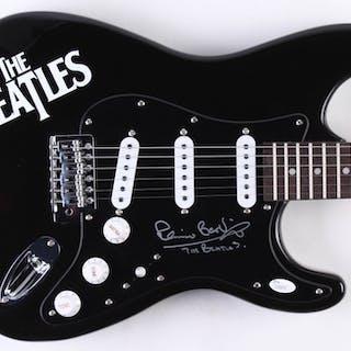 "Pete Best Signed The Beatles 38"" Electric Guitar (JSA COA)"