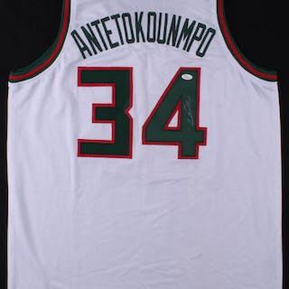 2a7cb5e49 ... Giannis Antetokounmpo Signed Milwaukee Bucks