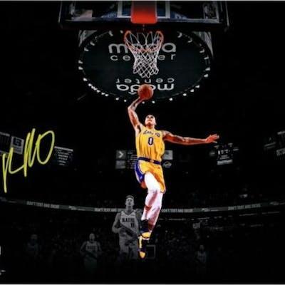 Kyle Kuzma Signed Lakers